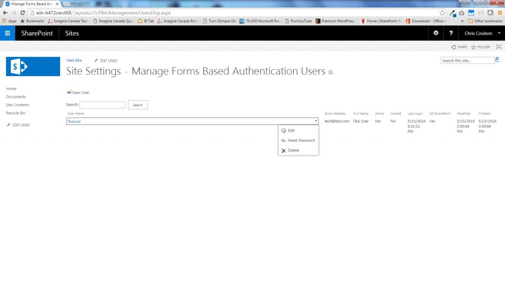 FBA User Management